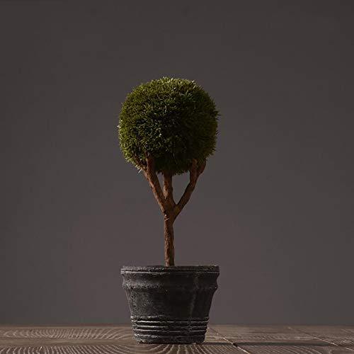 - zenggp Decoration Simulation Potted Garden Home Decorations Cafe Theme Restaurant Decoration PVC,D+1129cm