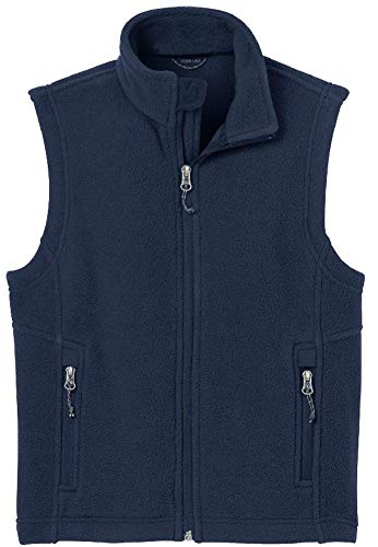 Joe's USA - Youth Soft and Cozy Fleece Vest in Youth Sizes XS-XL -