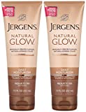 Cheap Jergens Natural Glow Revitalizing Daily Moisturizer, Medium/Tan Skin Tone 7.5 fl oz (221 ml) package of 2
