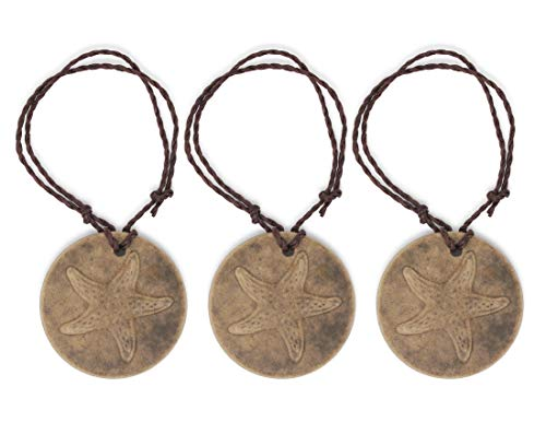 Laguna Eco-Friendly Scent Medallion, Air Freshener, Designed to Enhance Physical and Emotional Well Being. 100% Recyclable & Compostable. (3-Pack, Vanilla)