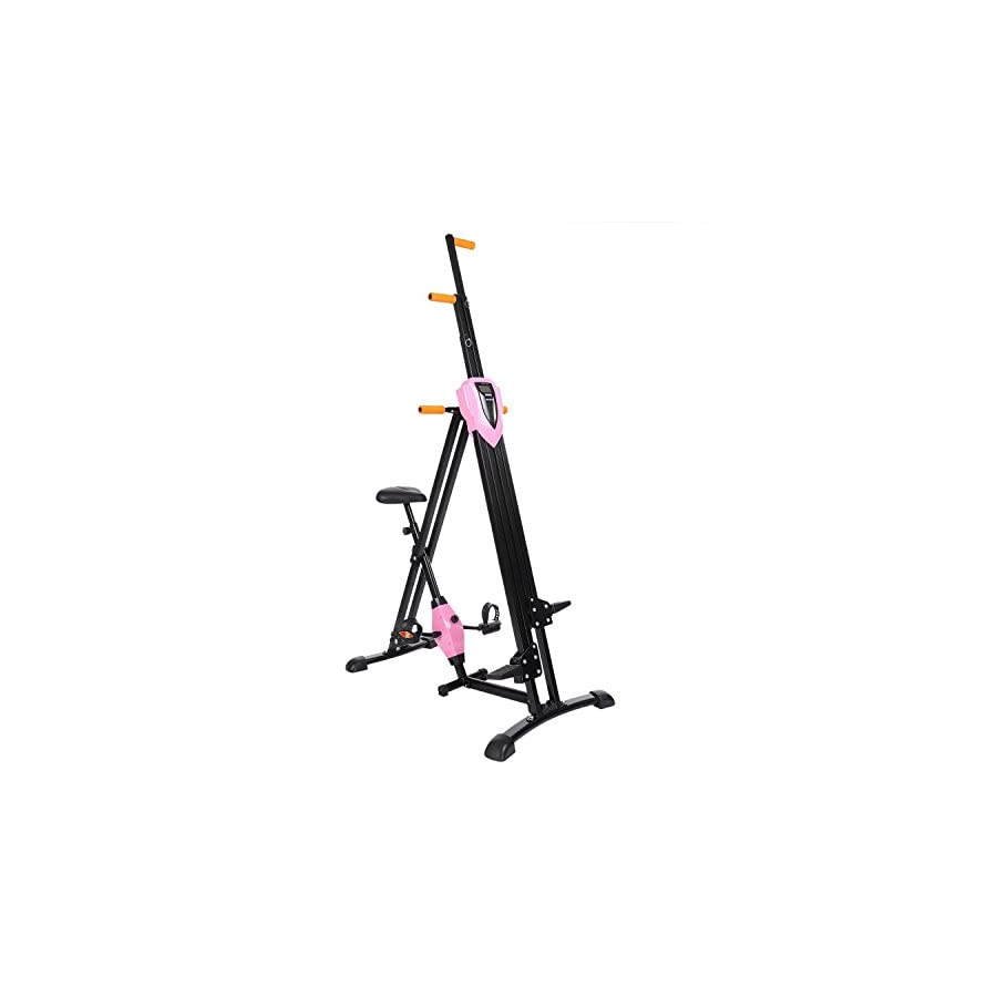 Hufcor Vertical Climber Exercise Climbing Machine,Folding Fitness Climbing Machine for Home,Step Climber for Full Body Workout