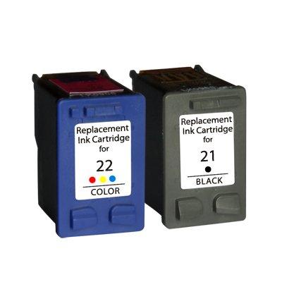 Prestige Cartridge 2 Cartuchos de Tinta para HP Deskjet F2120 F2180 F2280 F335 F375 F380 F390 F4180 F4190 3940 D1460 D2360 D2460 Officejet 4315 4355 ...