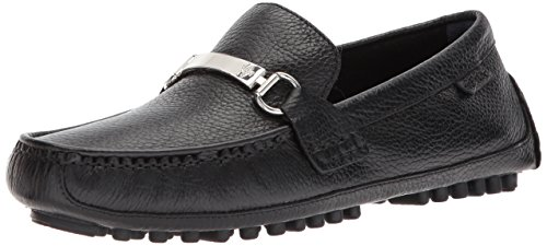 Cole Haan Men's Provincetown Bit Driver II Loafer, Black Pebbled, 12 Medium US - Black Pebbled