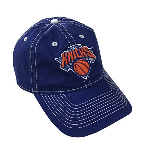 adidas NBA Official Licensed Adjustable Curved Bill Hat (New York Nicks, One_Size Adjustable)]()