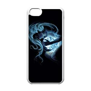 iPhone 5c Cell Phone Case White Defense Of The Ancients Dota 2 LUNA Hnybz