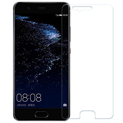 Aoatem [2 Stück]Für Huawei P10 Panzerglas Schutzfolie, [Kratzer][Blasen und Fingerabdruck][9H Härte][HD Anti-Öl][Einfaches Anbringen] Panzerglasfolie Displayschutzfolie für Huawei P10