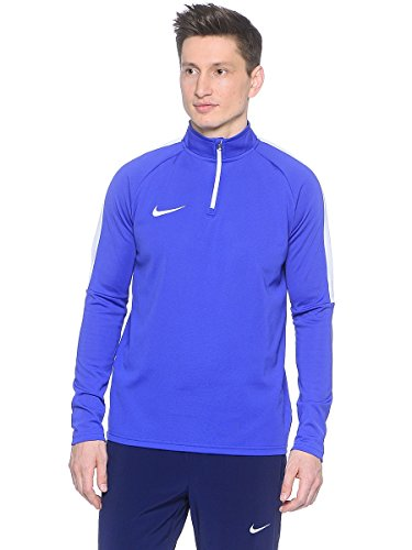 Nike M Nk Dry Acdmy Dril Top Tee for Man, Blue (Paramount Bluee/White/White), 2XL
