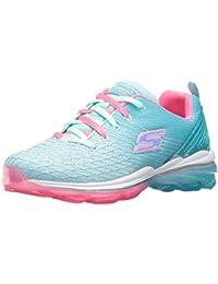 Kids Girls Skech Air Deluxe Running Shoe