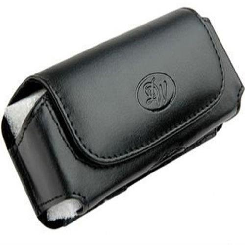 Leather Horizontal Belt Clip Case Pouch for Samsung Rugby 2 SGH-A847