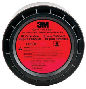 3M HEPA Filter For GVP Series Belt And Vehicle Mounted Air Purifying Respirator System - 1 EA
