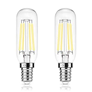DORESshop 4W Cooker Hood Bulb E14 T25 LED, 400LM, 40W Incandescent Replacement, Edison Filament Light Bulb, Day White…