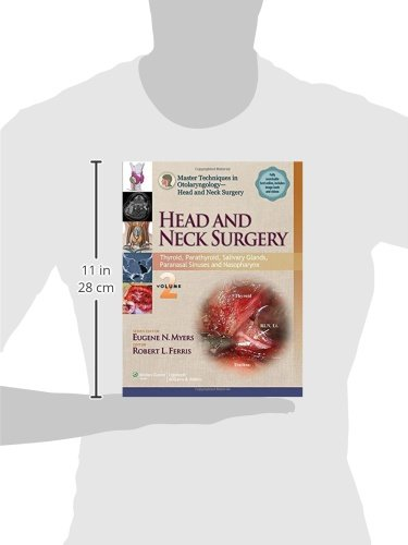 Master Techniques in Otolaryngology - Head and Neck Surgery: Head and Neck Surgery: Volume 2: Thyroid, Parathyroid, Salivary Glands, Paranasal Surgery - Head and Neck Surgery