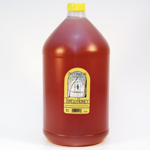 Tupelo Honey 1 Gallon Jug - 12 Lbs. - Lab Certified 2016 Tupelo Honey by Sleeping Bear Farms