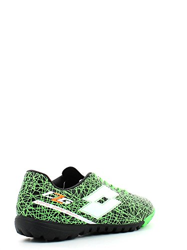 Lotto - Lotto zhero gravity VII 700 tf Zapatos Fùtbol Sala Negro Verde Cuero R8145 negro