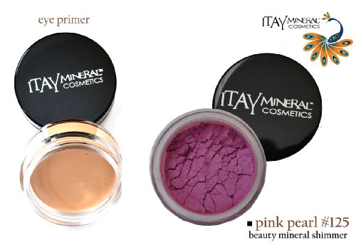 (Bundle 2 Items: Itay Beauty Mineral Eye Primer + 100% Natural Eye Shadow Color #125