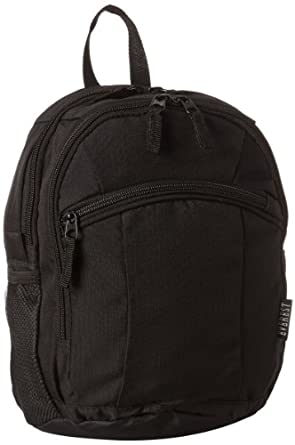 Amazon.com | Everest Deluxe Small Backpack, Black, One Size ...