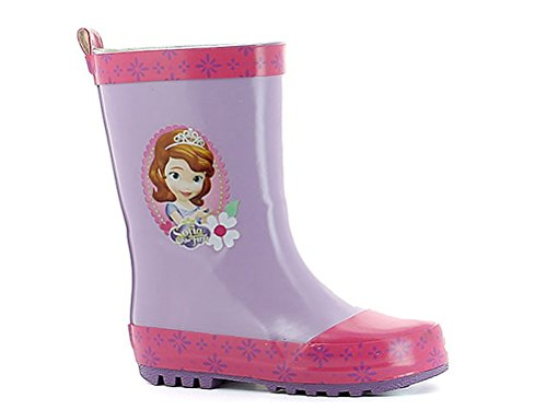 Disney Sofia The First Regenstiefel, Gummisitefel Lila
