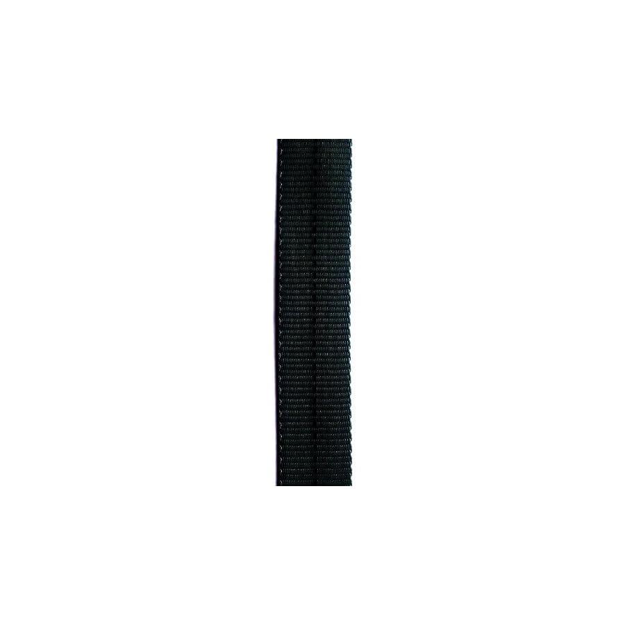 4000lb MBS Tubular Webbing 1 inch x 10 yards Black, UIAA Certified, Made in USA