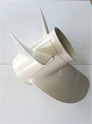 YAMASCO Aluminium Propeller f/ür Yamaha Au/ßenborder 70HP 75HP 80HP 85HP 90HP 6E5-45947-00-EL 3x13 1//2x38,1 cm P