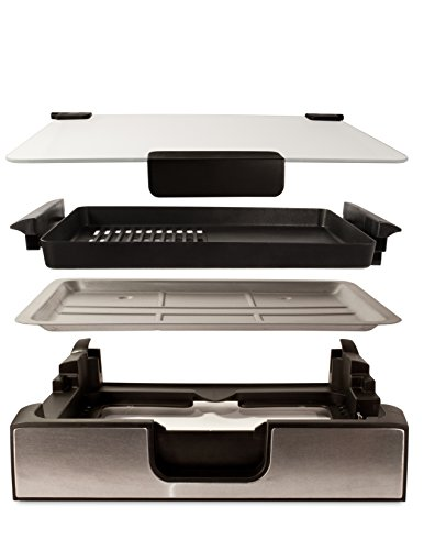 Smart Planet SIG‐4 Napa Valley Gourmet Premium Smokeless Stainless Steel Grill, Silver by Smart Planet (Image #2)