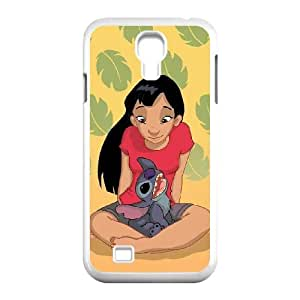 Samsung Galaxy S4 9500 Cell Phone Case White_Lilo with Stitch_003 TR2239977