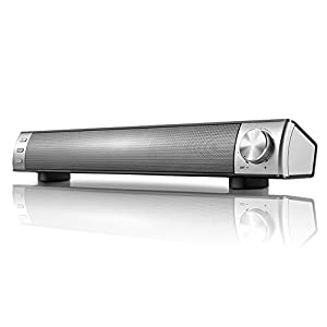 Sound Bar,Guangbang SoundBar,Speakers for TV(4 Speakers Strong Bass,Home Theater Surround Sound)