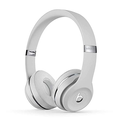 Beats Solo3 Wireless On-Ear Headphones – Satin Silver