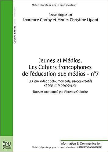 Jeunes et Médias, Les Cahiers francophones de l éducation aux médias - n° ff83ff632918