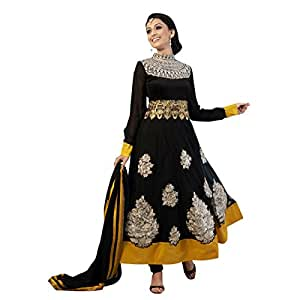 Triveni Miraculous Embroidered Net Anarkali Suit