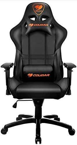 Cougar AGAMPA0214 - Silla Gaming Ajustable, Armor, Negra (Xbox)