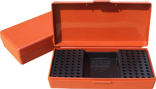 MTM 200 Round Small Bore Ammo Box .22 Long Rifle (Rust)