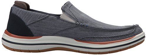 Azul navy Mocasines Elson Skechers Para Hombre amster FO1wUq64a