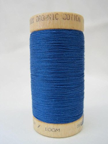 multipurpose-organic-cotton-sewing-thread-ocean-blue-300-yard-spool