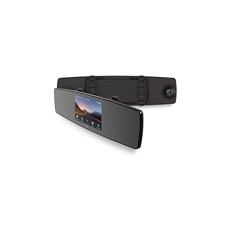 YI Mirror Dash Cam, Dual Dashboard Camer