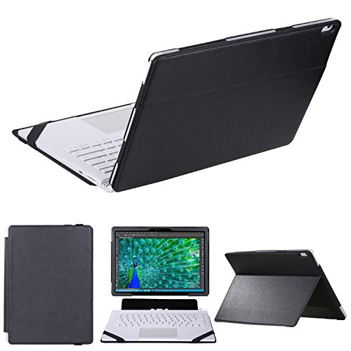 KuRoKo Case for Surface Book,2 IN 1 Kickstand Book Style case for Mirosoft Surface Book 13.5 inch laptop ()