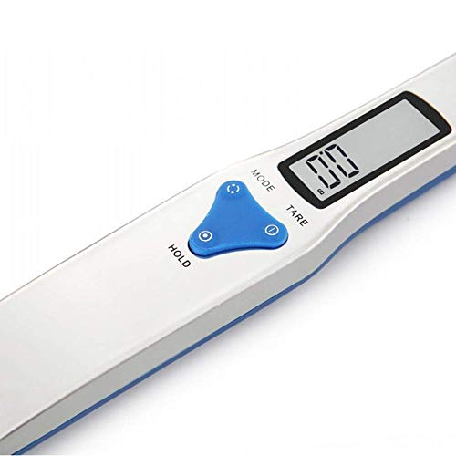 Kitchen Scale Spoon Gram Measuring Spoon, 500g/0.1g Blue Cute Digital Weight Scale Spoon Milligram Measuring Scoop Grams Electronic Measuring Cup for Portioning Tea, Flour, Spices, Medicine