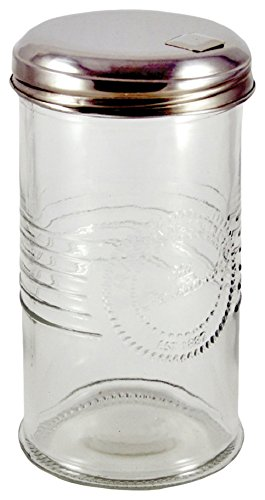 Grant Howard Old Fashioned Glass Sugar Dispenser, 14 Ounces