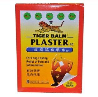 Tiger Plaster (1 Patch)* Tiger Porus Capsicum Extra Strenth Brand: Mayaka