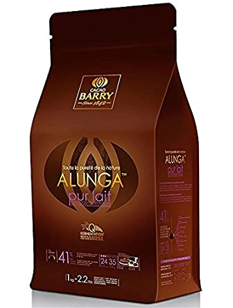 Cacao Barry Pureza Alunga Leche Chocolate Pistolas 1 kg: Amazon.es: Alimentación y bebidas