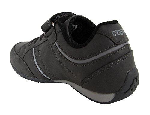 Scarpe sport per Bambino e Bambina e Donna KAPPA 302EZI0 MEZZIO 957 DK GREY-BLACK