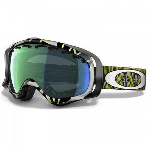 Oakley Crowbar Kazu Kokubo Signature Series Snow Goggle with Emerald Iridium - Signature Crowbar