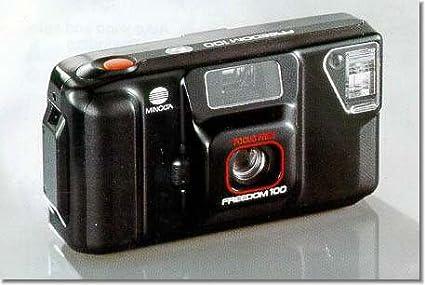 Amazon com : Minolta Freedom 100 Focus Free 35mm Film Camera : Point