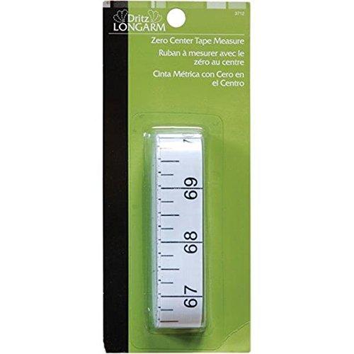 Dritz 3712 Longarm Zero Center Tape Measure