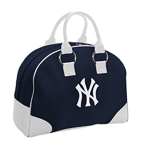 (Charm14 MLB New York Yankees Travel-Overnighter with Embroidered Logo)