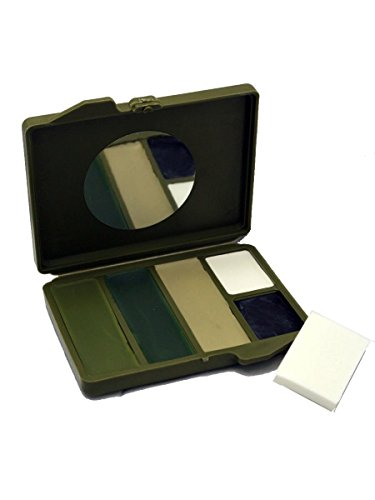 Bobbie Weiner 5 Color Face Paint Kit, - Face Camouflage Paint