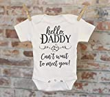 Husband Reveal Onesie®, Hello Daddy Can't Wait To Meet You, Daddy Reveal, Pregnancy Announcement, Coming Soon Onesie