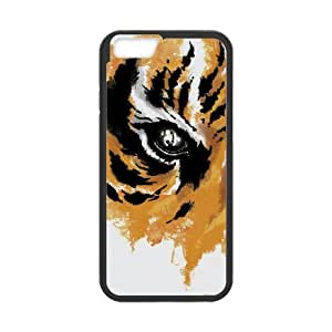 iPhone 6 4.7 Inch Cell Phone Case Black EYE OF THE TIGER Kuvls