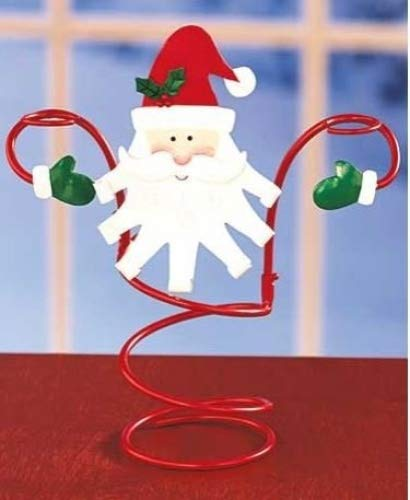 Santa Wine Bottle Holder - Holiday Santa Wine Bottle & Glass Holder by LTD