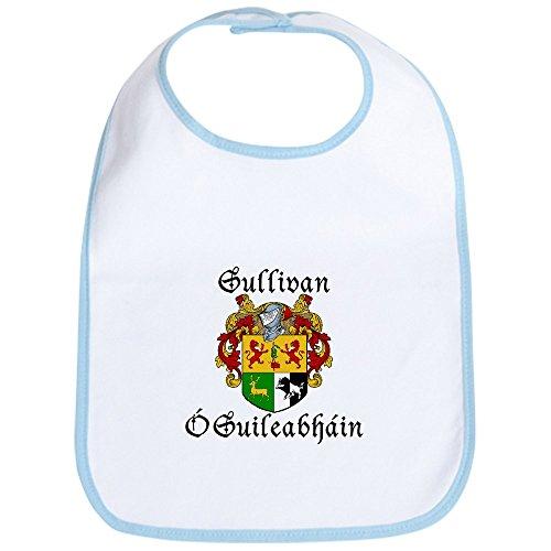 CafePress - Sullivan In Irish & English Bib - Cute Cloth Baby Bib, Toddler Bib