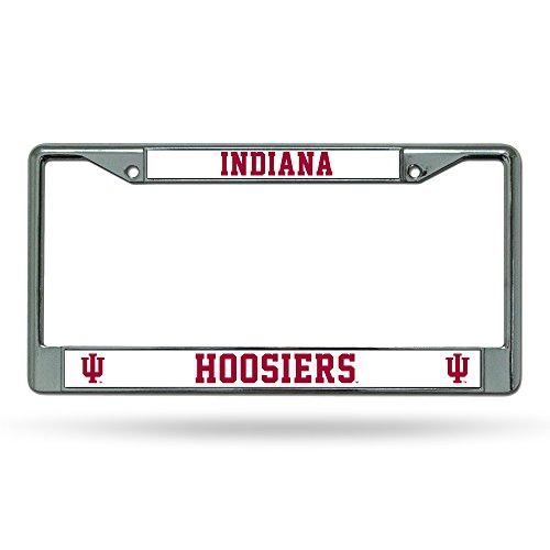 Metal Indiana Hoosiers (Rico Industries Indiana Hoosiers Chrome Frame)